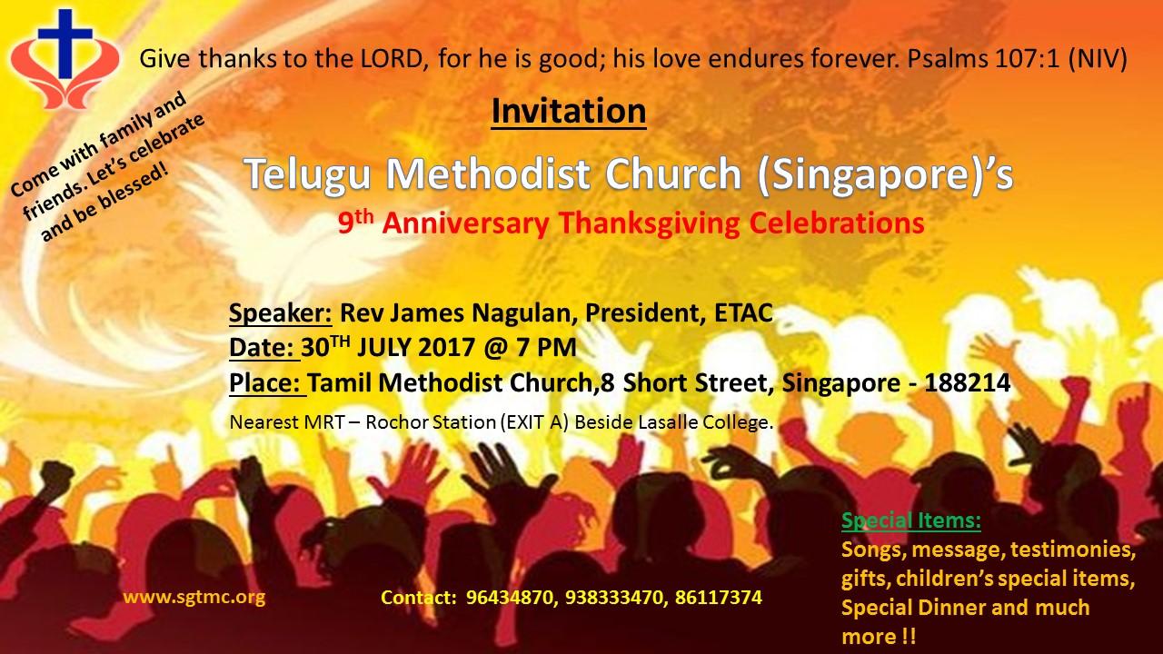 TMC 9th Anniversary Celebrations